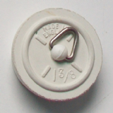 1 3/8 inch White Rubber Plug - 74000290